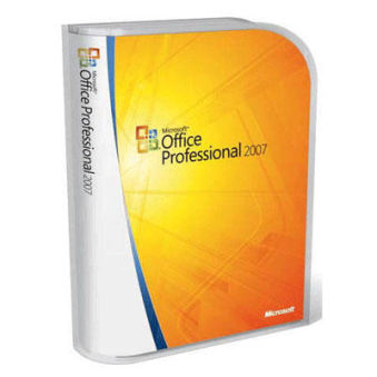 Microsoft OEM Office Professionnel 2007