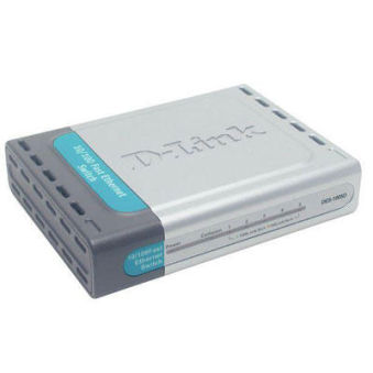 Switch D-link DES-1005D (5 ports 10/100