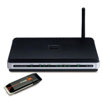 Modem routeur et clé sans fil  D-link DKT-710